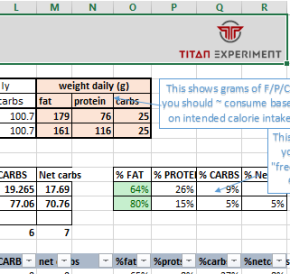 Ketogenic diet – Simple tool to calculate nutrient ratios